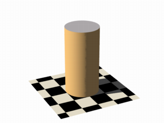Isosurface sample (cylinder function)